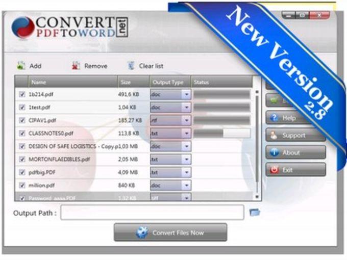 Convert PDF To Word Desktop Software