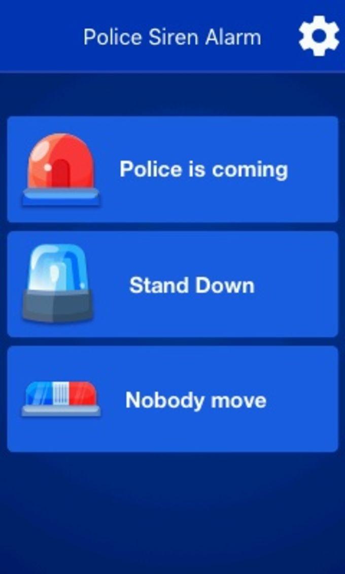 Police Siren Alarm