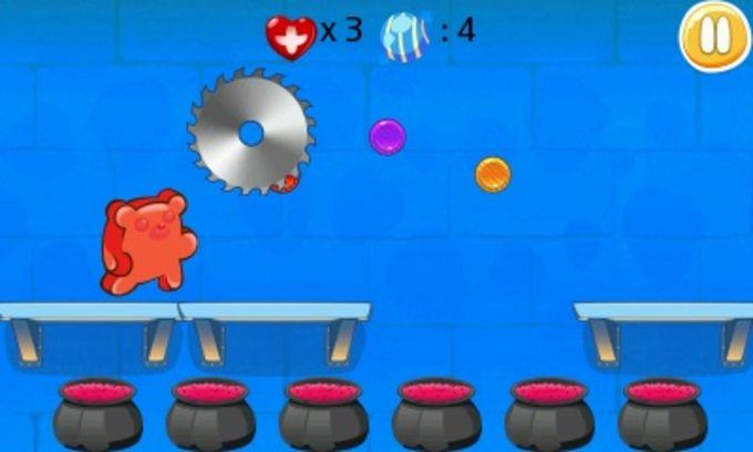 Gummy Bear Run - Jelly Jumping