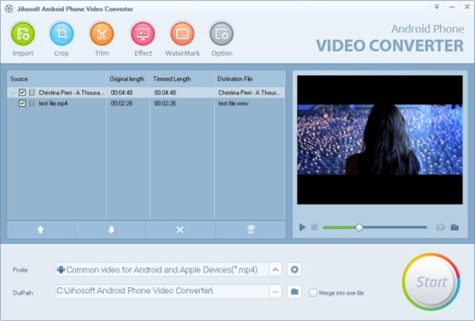 Jihosoft Android Phone Video Converter