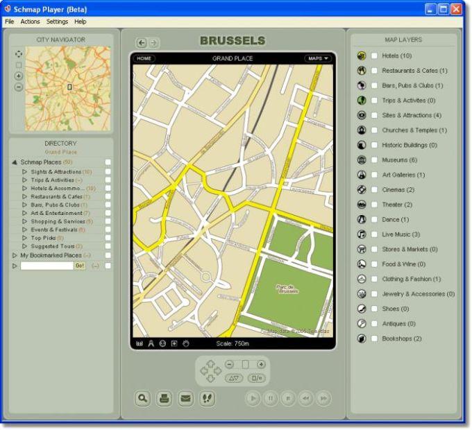 Schmap Brussels Guide