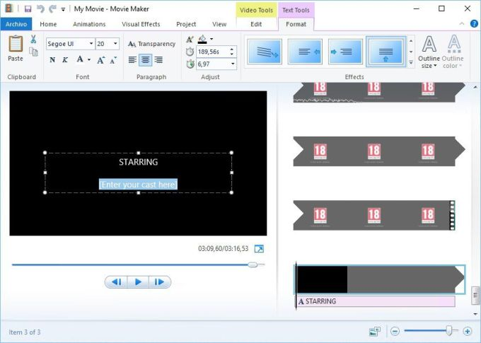 Download Windows Movie Maker - free - latest version