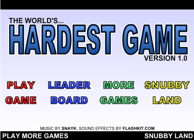The Hardest Game Ever