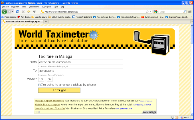 World Taximeter