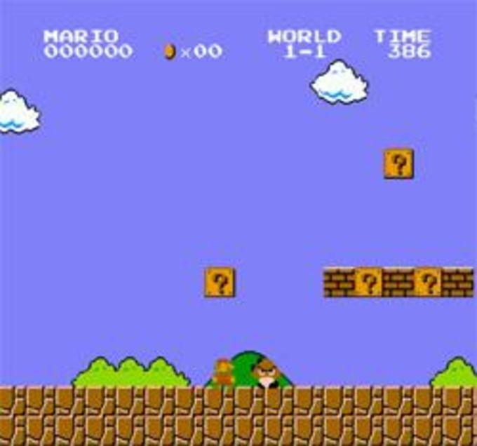 Super Mario Bros Screensaver