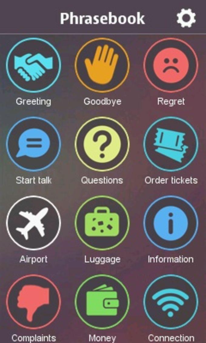 World Phrasebook - Travel Translator