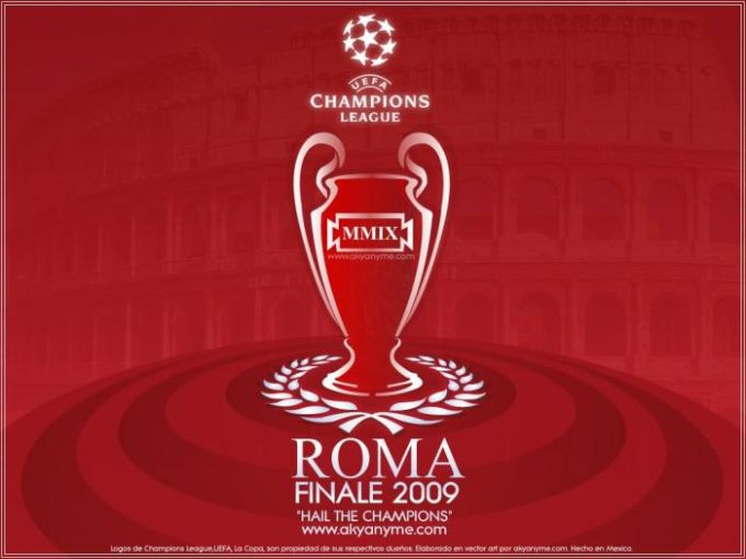 UEFA Champions League 2009 Wallpaper