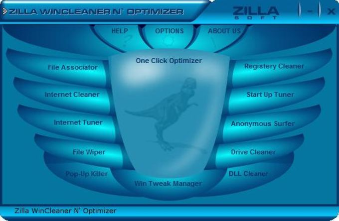 Zilla WinCleaner N' Optimizer