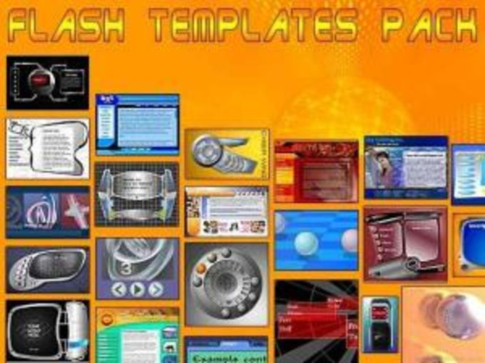Flash Templates Pack