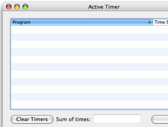 Active Timer