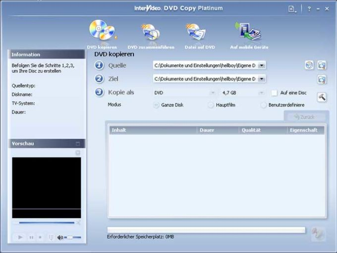 InterVideo DVD Copy