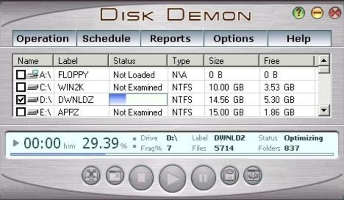 Disk Demon