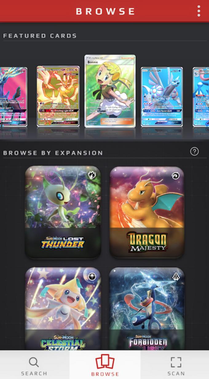 Pokémon TCG Card Dex