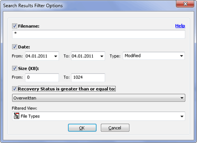 Easy NTFS File Undelete