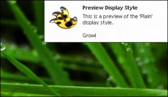 Growl for Windows