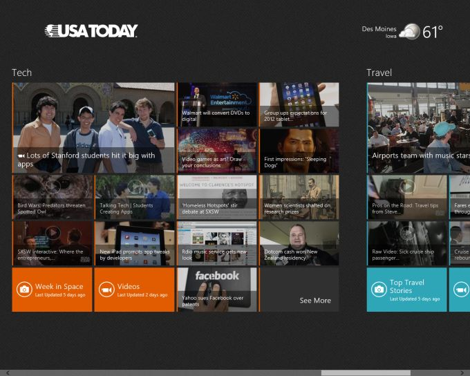 USA Today for Windows 10