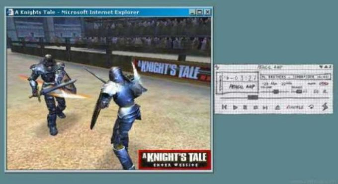 A Knight's Tale WinAmp Plugin