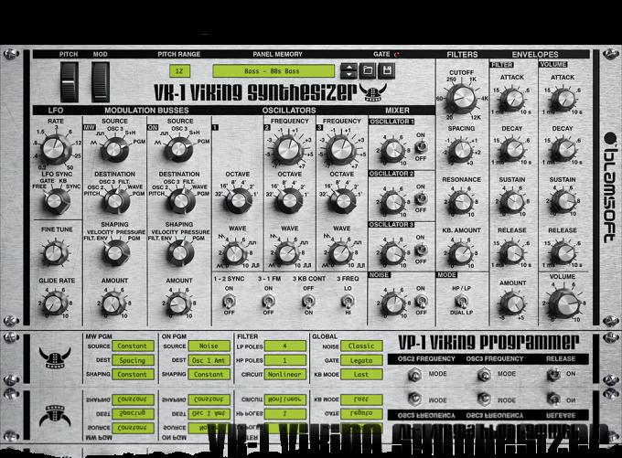 VK-1 Viking Synthetizer