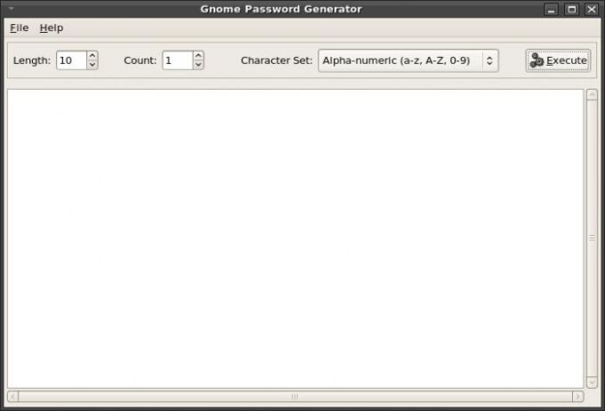 Gnome Password Generator