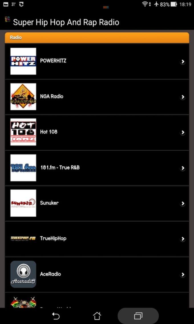 Super Hip Hop And Rap Radio