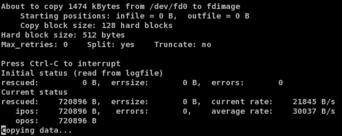 GNU ddrescue