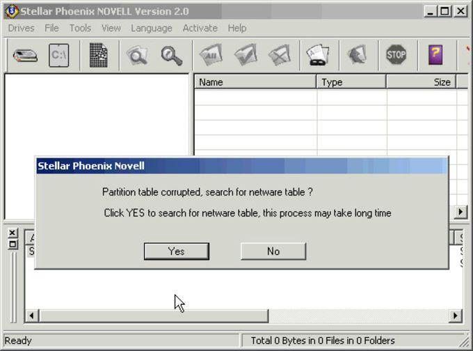 Stellar Phoenix Novell - Data Recovery Software NFS