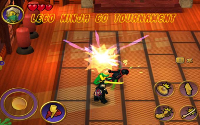 2017:NinjaGo Tournament Tricks