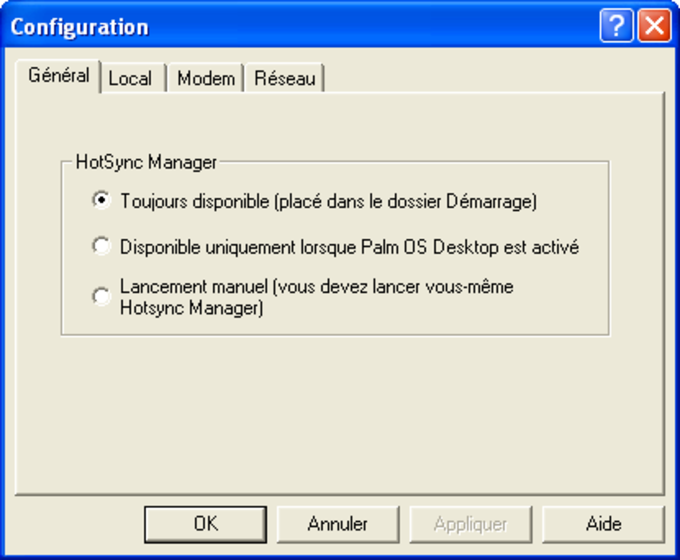Palm Desktop 4.1.4E + HotSync 6.0.1
