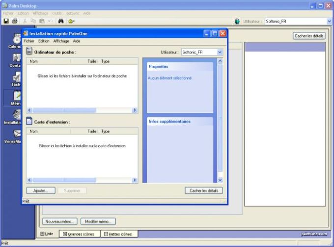 Palm Desktop 4.1.4E + HotSync 6.0.1