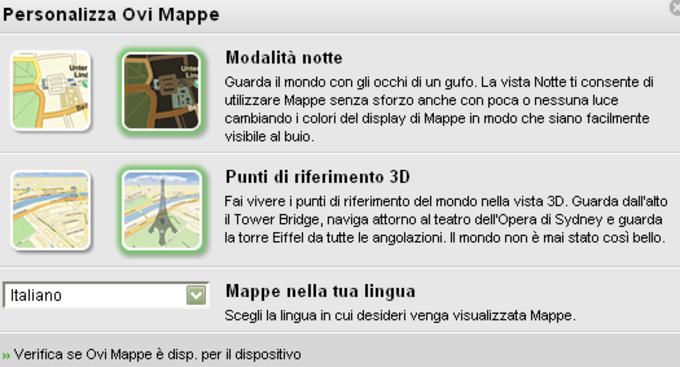 Ovi Maps Plug-in