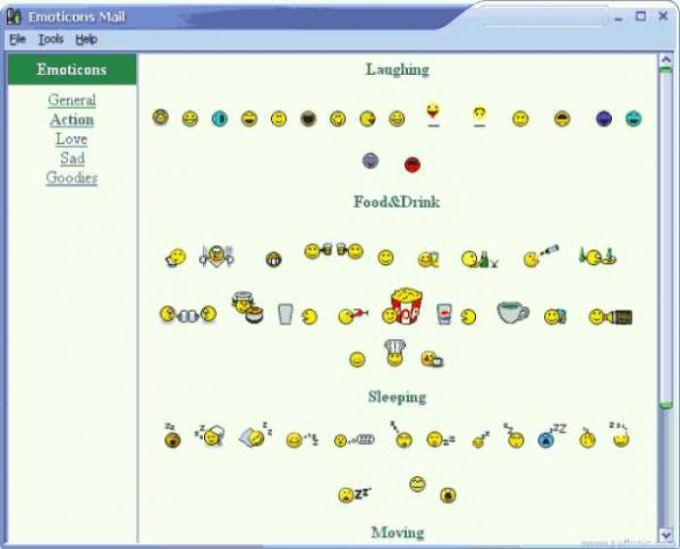 Emoticons Mail