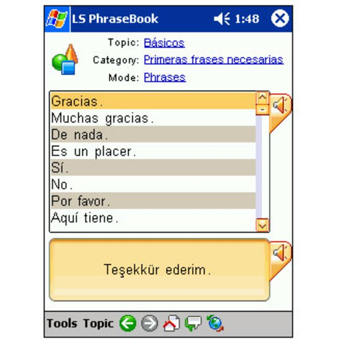 LingvoSoft Talking PhraseBook 2006 Spanish-Turkish