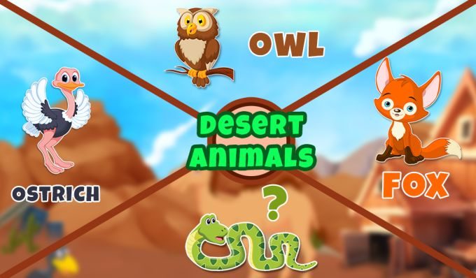 Real Desert Animal Sounds