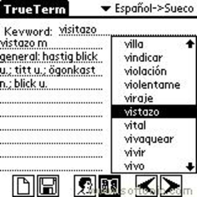 TrueTerm Spanish Portuguese