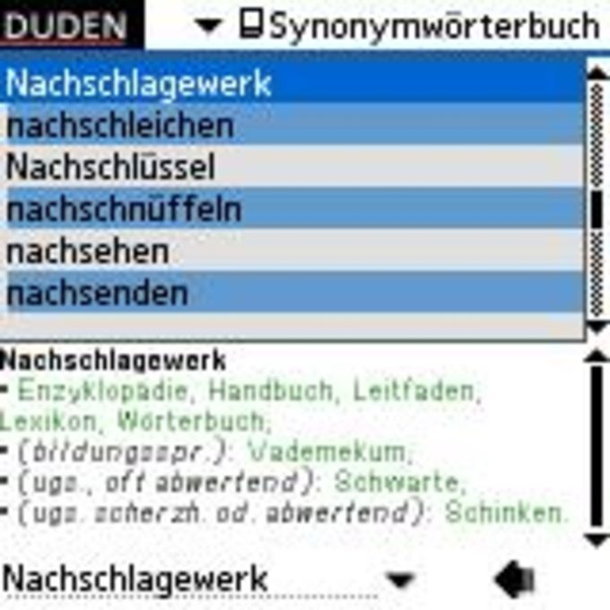 Duden - Das Synonymwörterbuch