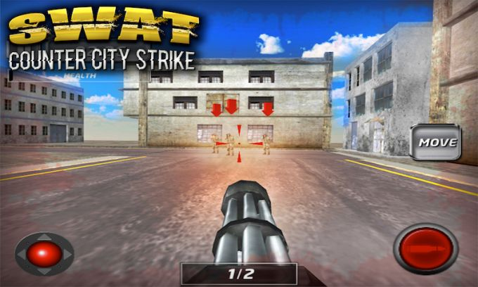 SWAT Counter City Strike 3D