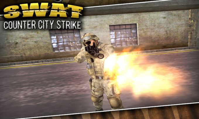 SWAT Counter City Strike 3D