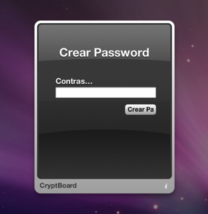 CryptBoard