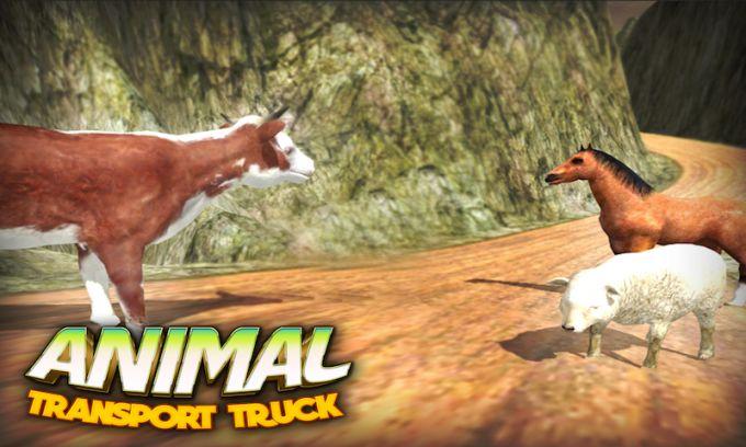 4x4 Animal Transport Truck 3D