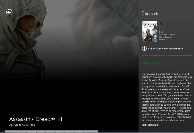Xbox LIVE Games für Windows 10