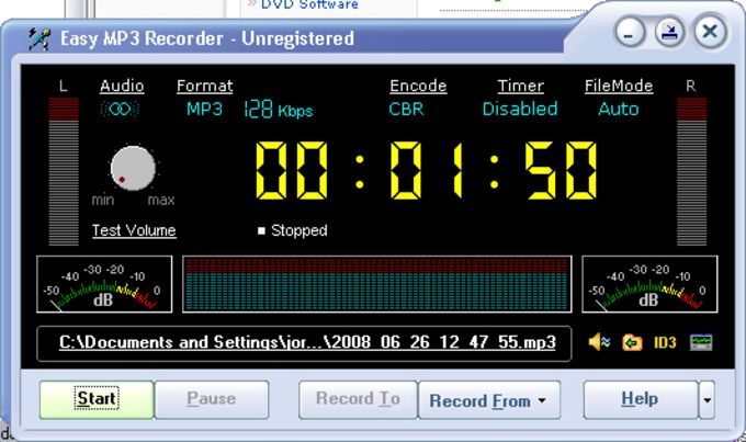Easy MP3 Recorder