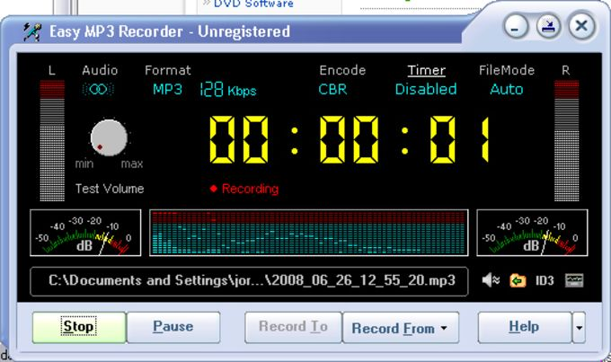 Easy MP3 Recorder