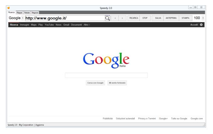 Speedy Web Browser