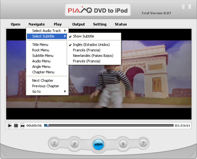 Convert DVD to iPod Files - Softpedia