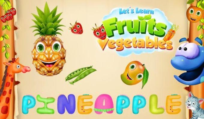 Let's Learn Fruits Vegetables
