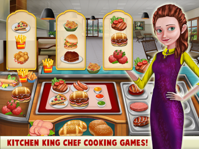 Kitchen King Chef Cooking Games for Android - Download