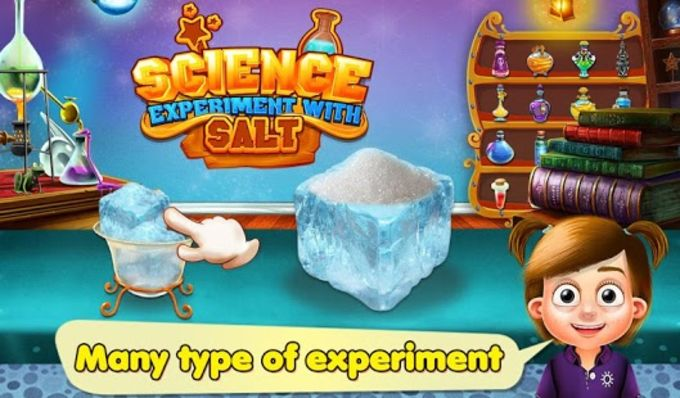 Science Experiment With Salt