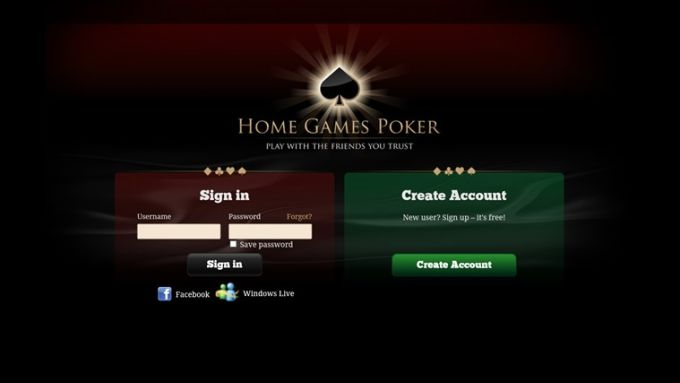 Home Games Poker for Windows 10