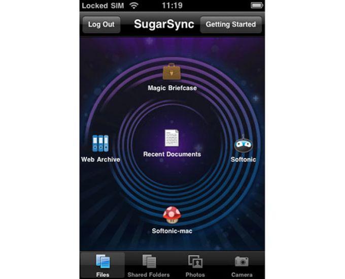 SugarSync for iPhone