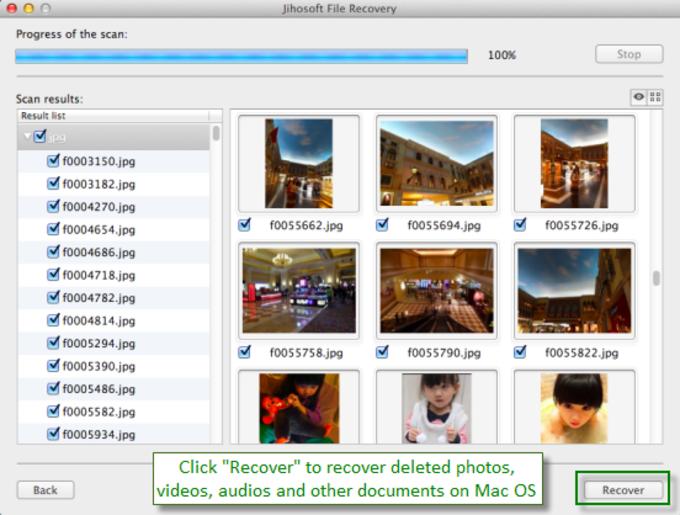Jihosoft File Recovery for Mac